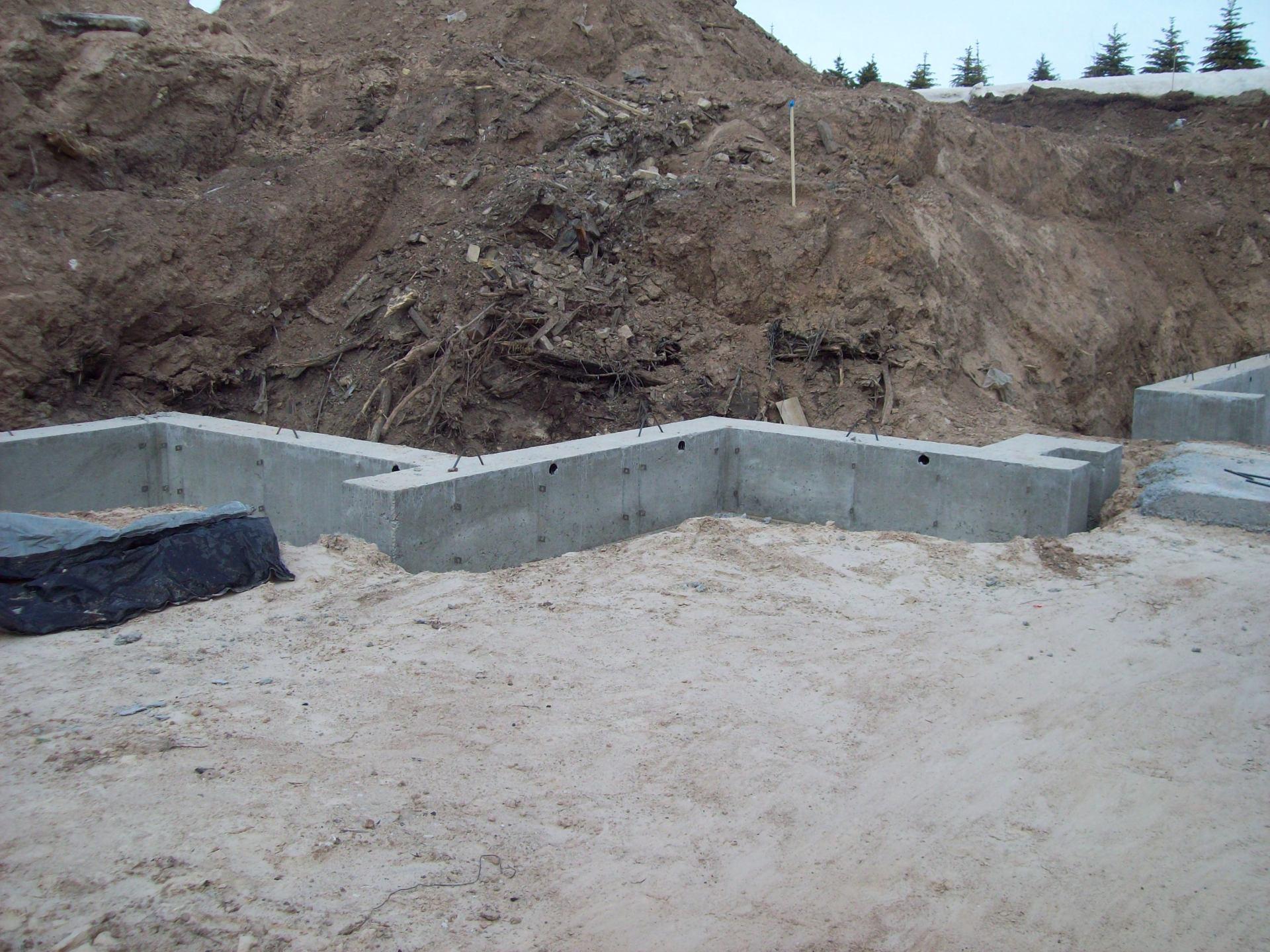 Tom Phillips Concrete Construction Concrete Foundation
